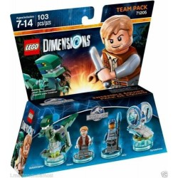 LEGO DIMENSIONS 71205 Team Pack OWEN ACU VELOCIRAPTOR Jurassic World DISPONIBILE