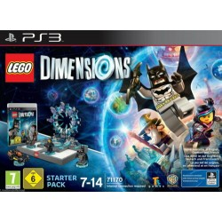 LEGO DIMENSIONS 71170 Starter Pack PS3 CONSOLLE