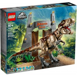 LEGO 75936 JURASSIC WORLD LA FURIA DEL T. REX RAMPAGE JURASSIC WORLD 2019