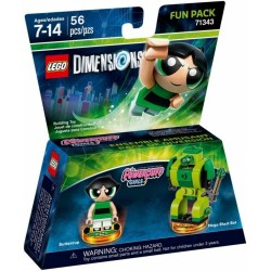 LEGO DIMENSIONS 71343 Fun Pack Powerpuff Girls Buttercup 2017