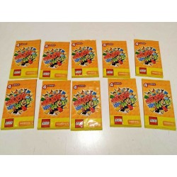 LEGO 10 BUSTINE DA 4 CARTE - 4 CARDS CREATE THE WORLD - OGNI BUSTINA HA 4 CARTE