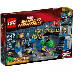 LEGO 76018 IL LABORATORIO DI HULK MARVEL SUPER HEROES