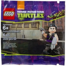 LEGO 5002127 POLYBAG TEENAGE MUTANT NINJA TURTLE NINJA FLASHBACK SHREDDER