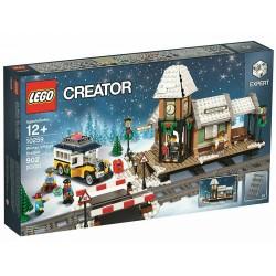 LEGO 10259 CREATOR EXPERT Winter Village Station SET ESCLUSIVO NATALE 2017