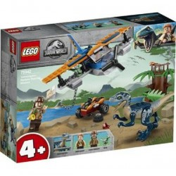 LEGO 75942 JURASSIC WORLD Velociraptor Biplane Rescue Mission GIU 2020