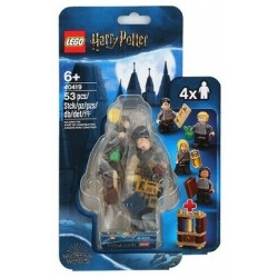 LEGO 40419 HARRY POTTER SET ACCESSORI STUDENTI DI HOGWARTS MINIFIGURES ESCLUSIVE