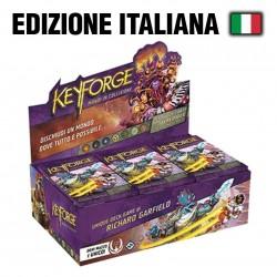 KEYFORGE MONDI IN COLLISIONE BOX 12 MAZZI IN ITALIANO SIGILLATTO - RARO