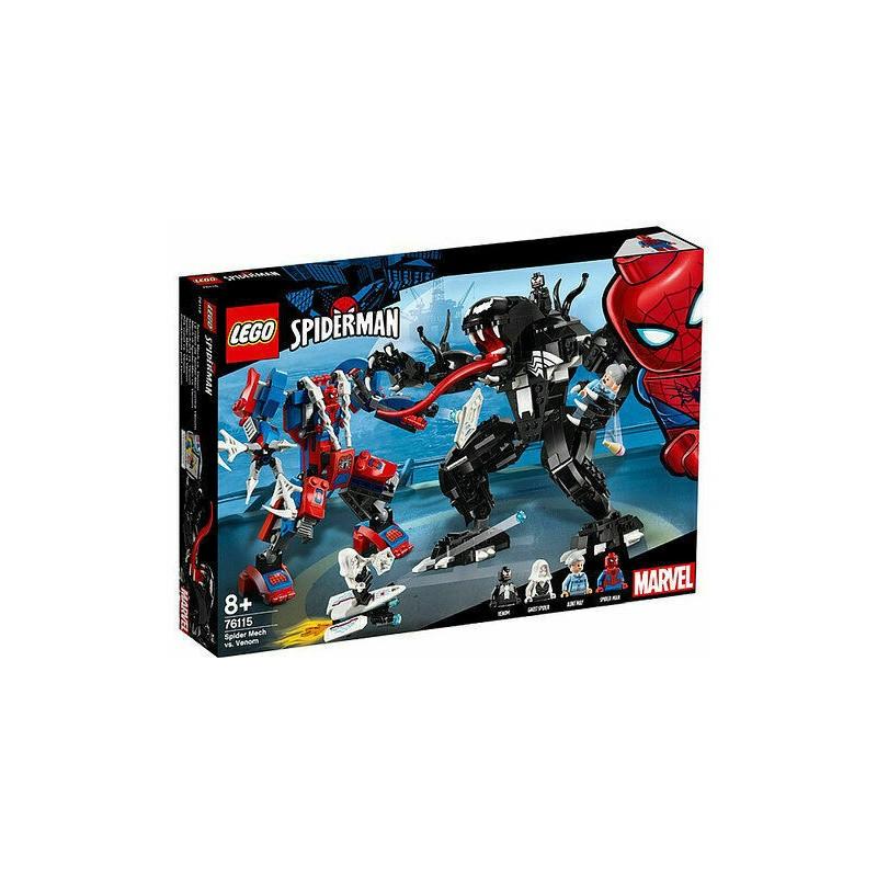 LEGO 76115 SUPER HEROES MECH DI SPIDER-MAN VS VENOM 2019