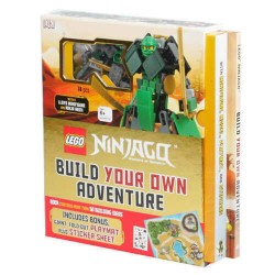 LEGO LIBRO NINJAGO BUILD YOUR OWN ADVENTURE EXSCLUSIVE MINIFIGURE