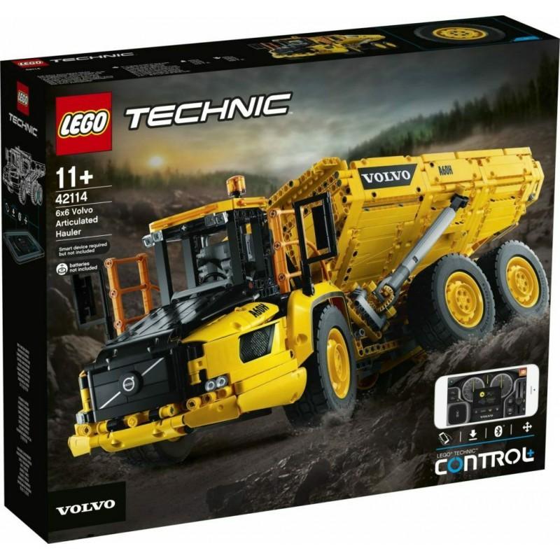 LEGO 42114 TECHNIC VOLVO LOADER DA AGOSTO 2020 PREVENDITA