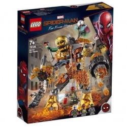 LEGO 76128 SUPER HEROES MOLTEN MAN BATTLE BATTAGLIA SPIDER-MAN MARVEL 2019