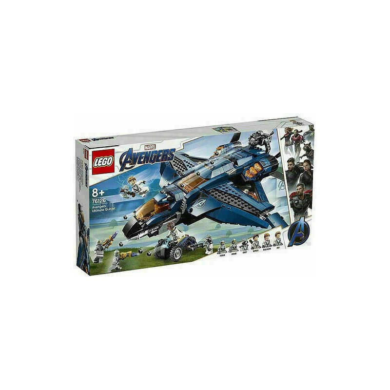 LEGO 76126 SUPER HEROES AVENGERS ULTIMATE QUINJET MARVEL 2019