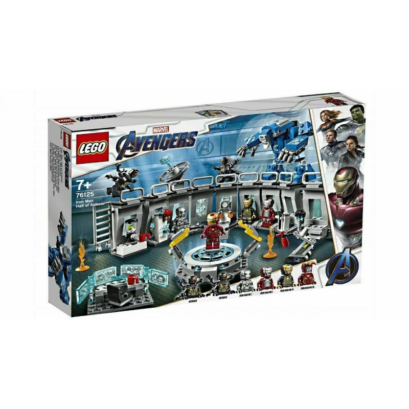 LEGO 76125 SUPER HEROES AVENGERS IRON MAN HALL OF ARMOUR MARVEL 2019