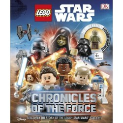 LEGO STAR WARS CHRONICLES OF THE FORCE DISCOVER THE STORY OF LEGO CON MINIFIGURE