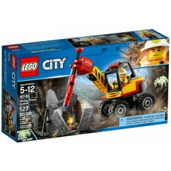 LEGO CITY 60185 SPACCAROCCIA DA MINIERA - MAR 2018
