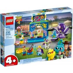 LEGO JUNIORS 10770 Buzz e Woody e la mania del carnevale! TOY STORY 4 - MAG 2019