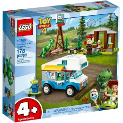 LEGO JUNIORS 10769 VACANZA IN CAMPER RV Vacation TOY STORY 4 - MAG 2019