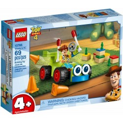 LEGO JUNIORS 10766 Woody & RC TOY STORY 4 - MAG 2019