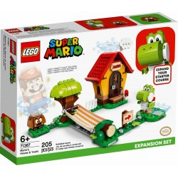 LEGO 71367 SUPER MARIO CASA DI MARIO E YOSHI PACK ESPANSION DA AGO 20 PREVENDITA
