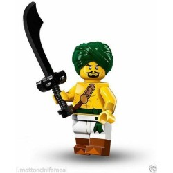 LEGO SERIE 16  71013 – 2 MINIFIGURES  NR 1 DESERT WARRIOR SINGOLA MINIFIGURE