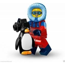 LEGO SERIE 16  71013 – 7 MINIFIGURES NR 1 WILDLIFE PHOGRAPHER SINGOLA MINIFIGURE
