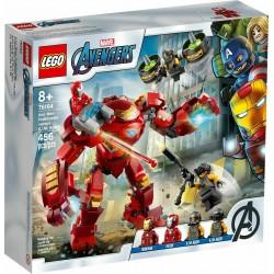 LEGO 76164 IRON MAN HULKBUSTER CONTRO L'AGENTE A.I.M. AVENGERS AGO PREVENDITA