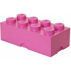 LEGO STORAGE SCATOLA CONTENITORE GIGANTE DEEP PINK ROSA 2X4 PORTA MATTONCINI