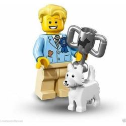 LEGO SERIE 16  71013 – 12 MINIFIGURES NR 1 DOG SHOW WINNER SINGOLA MINIFIGURE