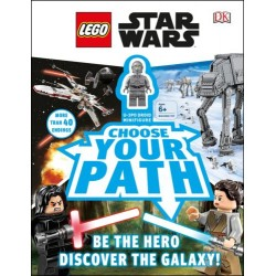 LEGO LIBRO STAR WARS CHOOSE YOUR PATH: WITH MINIFIGURE EXCLUSIVE U-3PO
