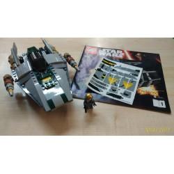 LEGO 75150 A-WING STAR FIGHTER + ISTRUZIONI + A-WING PILOT MINIFIGURE + ADESIVI