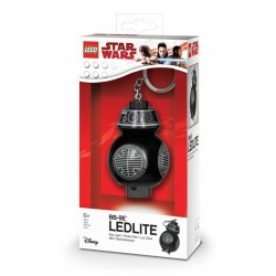 LEGO LGL-KE112 Torcia portachiavi BB-9 STAR WARS Keyring LED LITE GUERRE STEL...