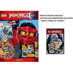 LEGO NINJAGO RIVISTA MAGAZINE N. 11 IN ITALIANO + POLYBAG ZANE NUOVO SIGILLATO