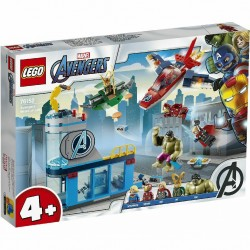 LEGO 76152 SUPER HEROES AVENGERS Wrath of Loki MARVEL  GIU 2020