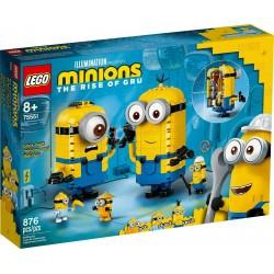 LEGO 75551 MINIONS Personaggi Minions e la loro tana APRILE 2020