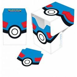 ULTRA PRO DECK BOX Pokemon Porta mazzo verticale Great Ball MEGA BALL