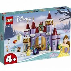 LEGO 43180 DISNEY PRINCESS LA FESTA D'INVERNO AL CASTELLO DI BELLE