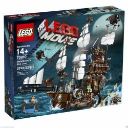 LEGO 70810 THE MOVIE METALBEARD'S SEA COW IL GALEONE DI BARBACCIAIO