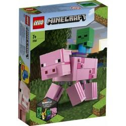 LEGO 21157 MAXI-FIGURE MAIALE E BABY ZOMBI MINECRAFT  DAL 12 GEN 2020