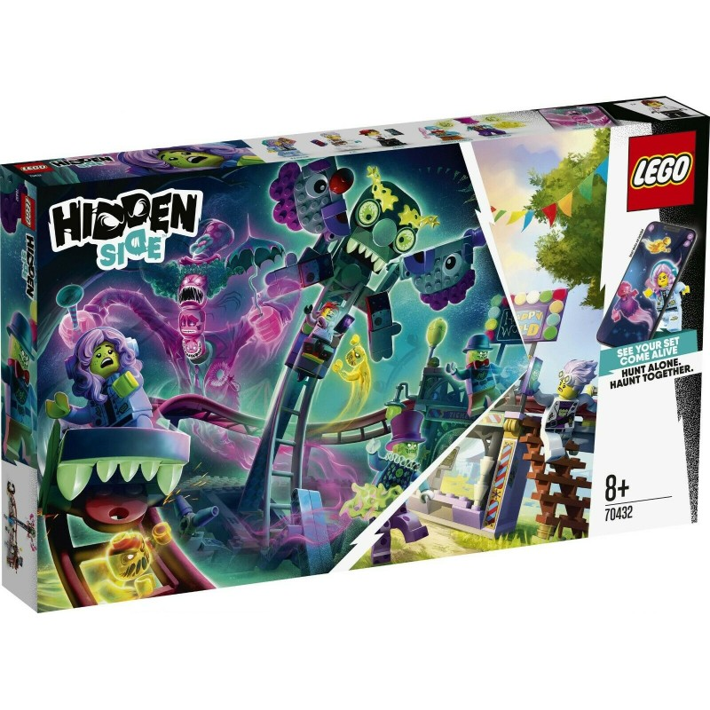 LEGO 70432 HIDDEN SIDE IL LUNAPARK STREGATO GEN 2020