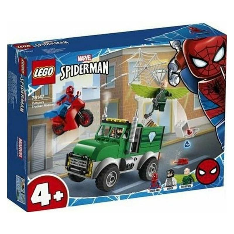 LEGO 76147 SUPER HEROES AVVOLTOIO E LA RAPINA CAMION SPIDER-MAN MARVEL DAL 12gen