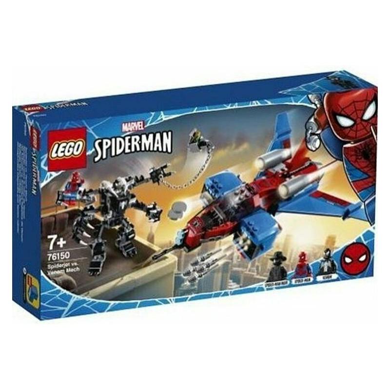 LEGO 76150 SUPER HEROES SPIDERJET VS MECH VENOM MARVEL DAL 12 GEN 2020
