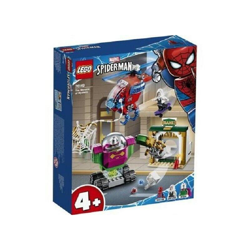 LEGO 76149 SUPER HEROES LA MINACCIA DI MYSTERIO SPIDER-MAN MARVEL DAL12 GEN 2020