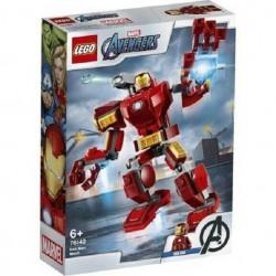 LEGO 76140 MECH IRON MAN SUPER HEROES AVENGER MARVEL DAL 12 GEN 2020