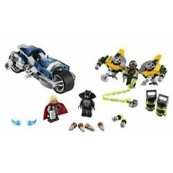 LEGO 76142 ATTACCO ALLA SPIDER BIKE SUPER HEROES AVENGER MARVEL DAL 12 GEN 2020