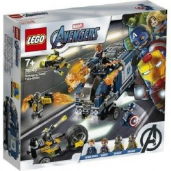 LEGO 76143 ATTACCO AL CAMION SUPER HEROES AVENGER MARVEL DAL 12 GEN 2020