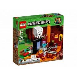LEGO 21143 IL PORTALE DEL NETHER MINECRAFT - GEN 2020
