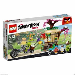 LEGO 75823 THE ANGRY BIRDS MOVIE RAPINA DELLE UOVA SU BIRD ISLAND DISPONIBILE