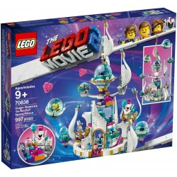 LEGO 70838 MOVIE 2 REGINA WELLO KE WUOGLIO E IL PALAZZO SPAZIALE MEZZO MALVAGIO