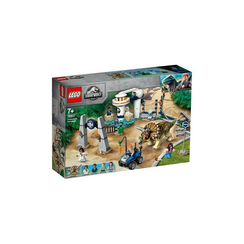 LEGO 75937 JURASSIC WORLD L'ASSALTO DEL TRICERATOPO LEGGENDA NUBLAR GIU 2019