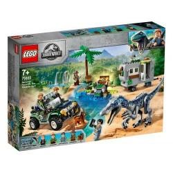 LEGO 75935 JURASSIC WORLD Faccia a faccia con il Baryonyx